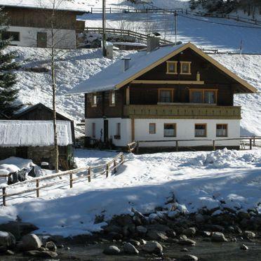 Außen Winter 14, Ferienhütte Eben, Mayrhofen, Zillertal, Tirol, Österreich