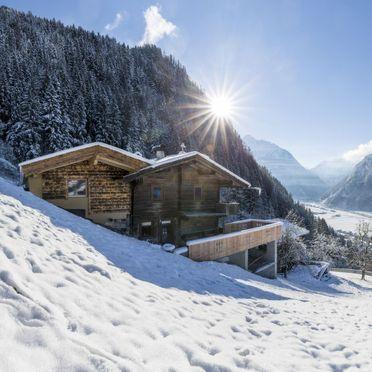 Außen Winter 23, Hütte Jörgener, Mayrhofen, Zillertal, Tirol, Österreich