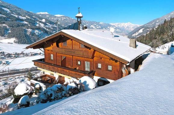 Außen Winter 21 - Hauptbild, Chalet Egger, Zell am Ziller, Zillertal, Tirol, Österreich