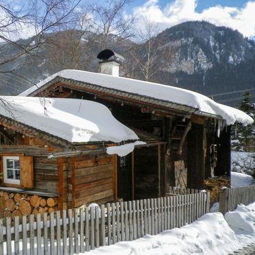 Außen Winter 15, Blockhütte Hüttl, Trins, Tirol, Tirol, Österreich
