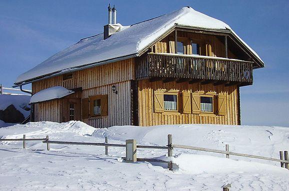 Außen Winter 7 - Hauptbild, Berghütte Weissmann, Bad Kleinkirchheim, Kärnten, Kärnten, Österreich
