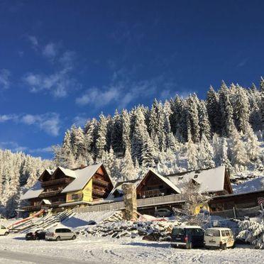Außen Winter 17, Berghütte Kochhube, Hirschegg - Pack, Steiermark, Steiermark, Österreich