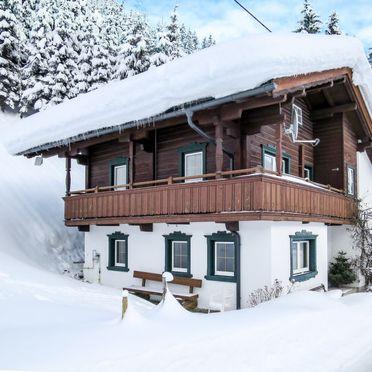 Außen Winter 28, Berghütte Häusl, Tux, Zillertal, Tirol, Österreich