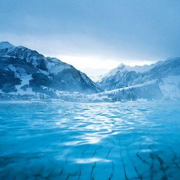Innen Winter 24, Berghütte Sahnealm, Mittersill, Pinzgau, Salzburg, Österreich