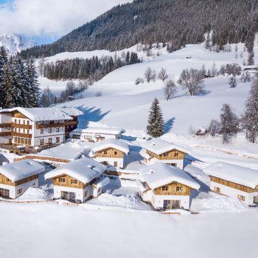 Außen Winter 11, Bergchalet Eulersberg, Werfenweng, Pongau, Salzburg, Österreich