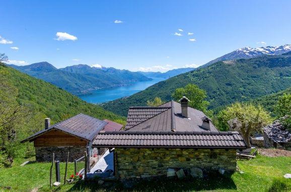 Außen Sommer 1 - Hauptbild, Rustico Rinaldo, Gravedona, Comer See, Lombardei, Italien