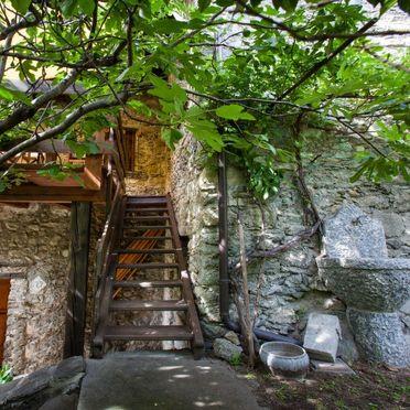 Außen Sommer 2, Rustico al Fopp, Valtellina, Lombardei, Lombardei, Italien