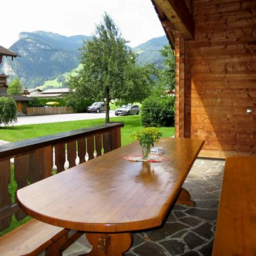 Außen Sommer 3, Blockhütte Heisenhaus, Mayrhofen, Zillertal, Tirol, Österreich