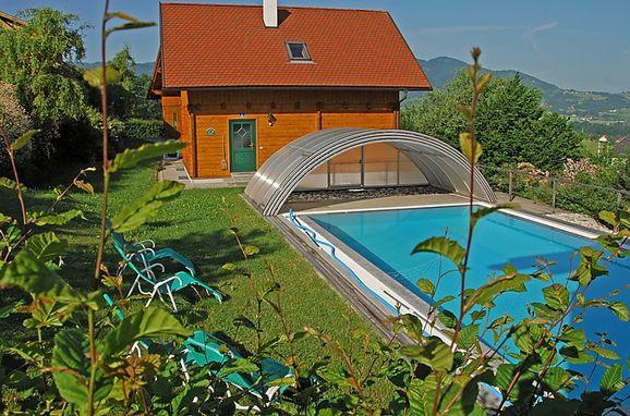 Außen Sommer 1 - Hauptbild, Ferienhütte Sonnleiten, Schlierbach, Oberösterreich, Oberösterreich, Österreich