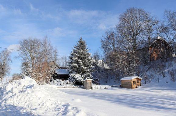 Außen Winter 32 - Hauptbild, Berghütte Menardi, Frankenburg am Hausruck, Oberösterreich, Oberösterreich, Österreich