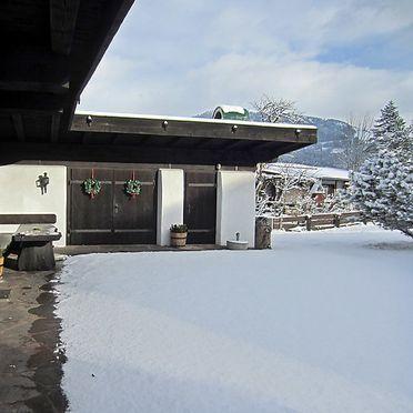 Außen Winter 13, Jagdhütte Lärchenbichl, Sankt Johann in Tirol, Tirol, Tirol, Österreich