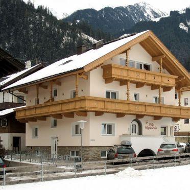 Außen Winter 11, Chalet Wegscheider im Zillertal, Mayrhofen, Zillertal, Tirol, Österreich